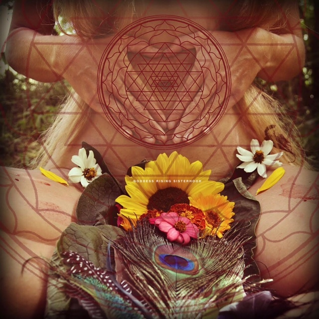 Achintya Devi, Founder of GoddessRising.Org, Shares her Flower Adorned Moon Ritual