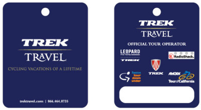 Trek Travel - Guest ID Tag