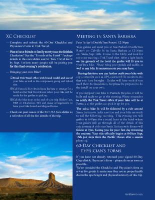 Trek Travel - Newsletter