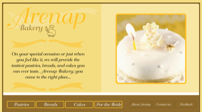 Website Proposal for a Bakery