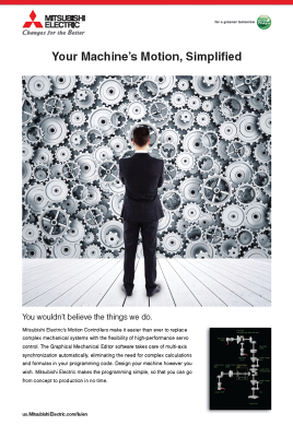 Mitsubishi Electric Automation - Corporate Poster