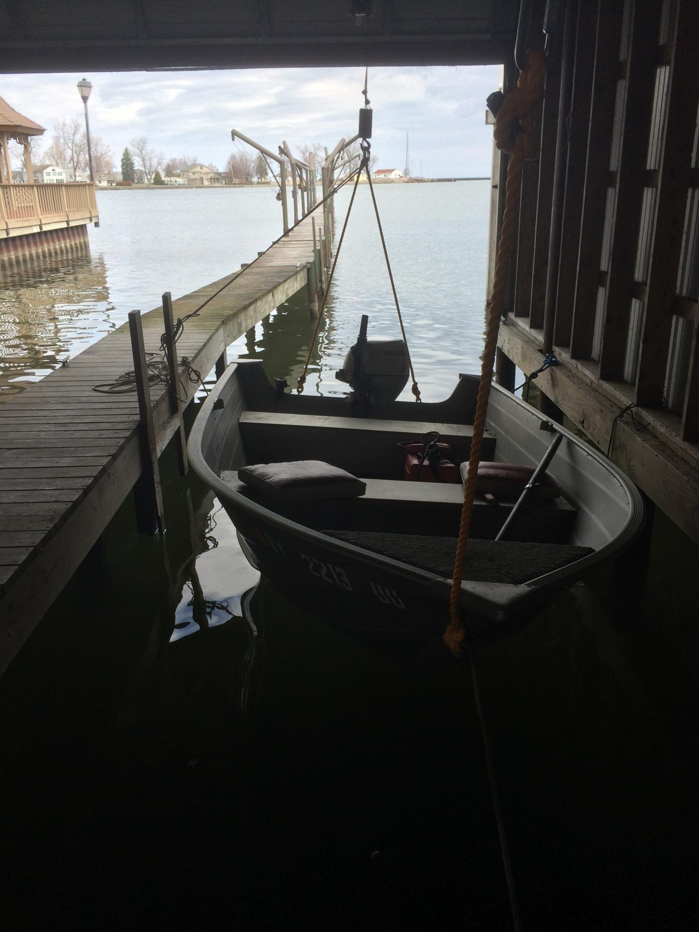 Inside Boat House