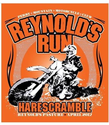 2017 SECCA Reynolds Run Hare Scramble T-Shirts
