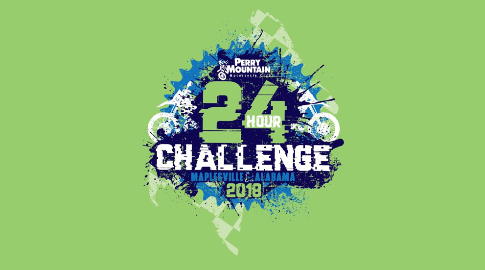 2018 24 Hour Challenge  T-Shirts Available for pre-order