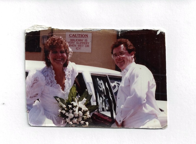 July 22, 1989 One of the best times of my life. Marriage.