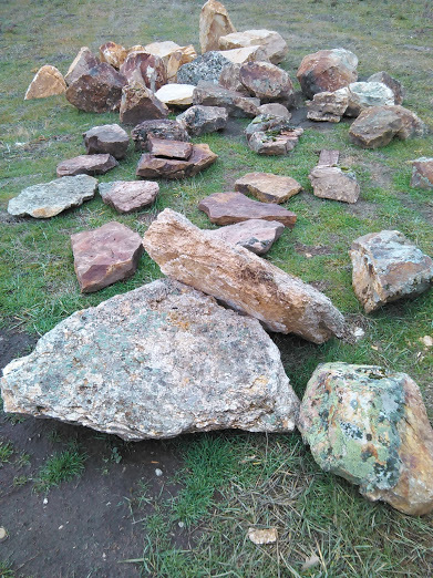 Assorted Boulders and Rock