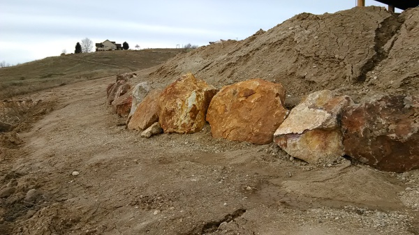 Huge Rock Wall