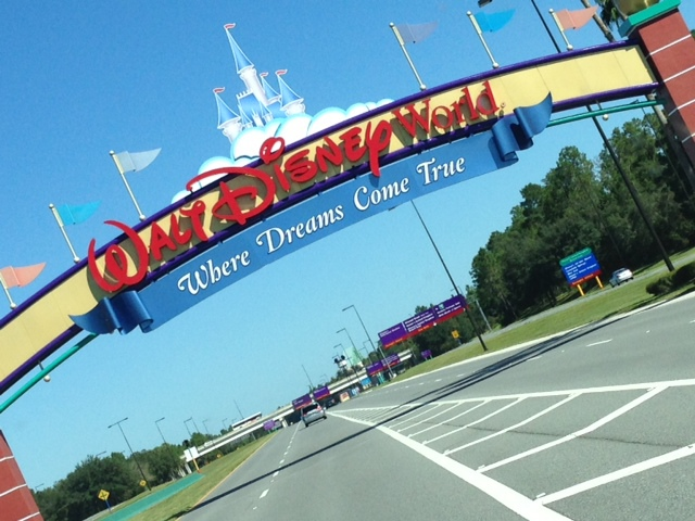 the one and only Walt Disney World