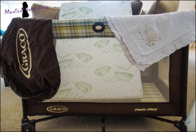 Graco Travel Cot with Mattress for Our Younger Guests