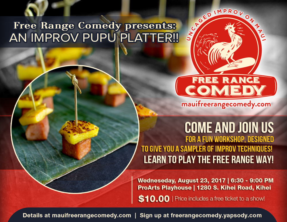 comedy workshop Maui