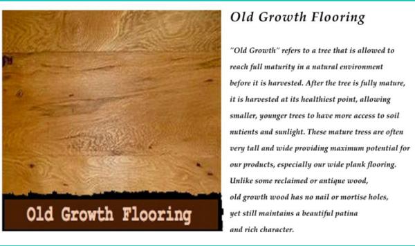 wide plank wood