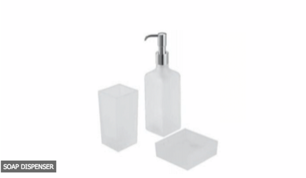 BATH ACCESSORIES-SOAP DISPENSER