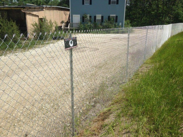 POST DRIVEN FENCE