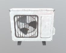 Air Conditioner 3D asset