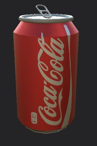 Coke Can Asset