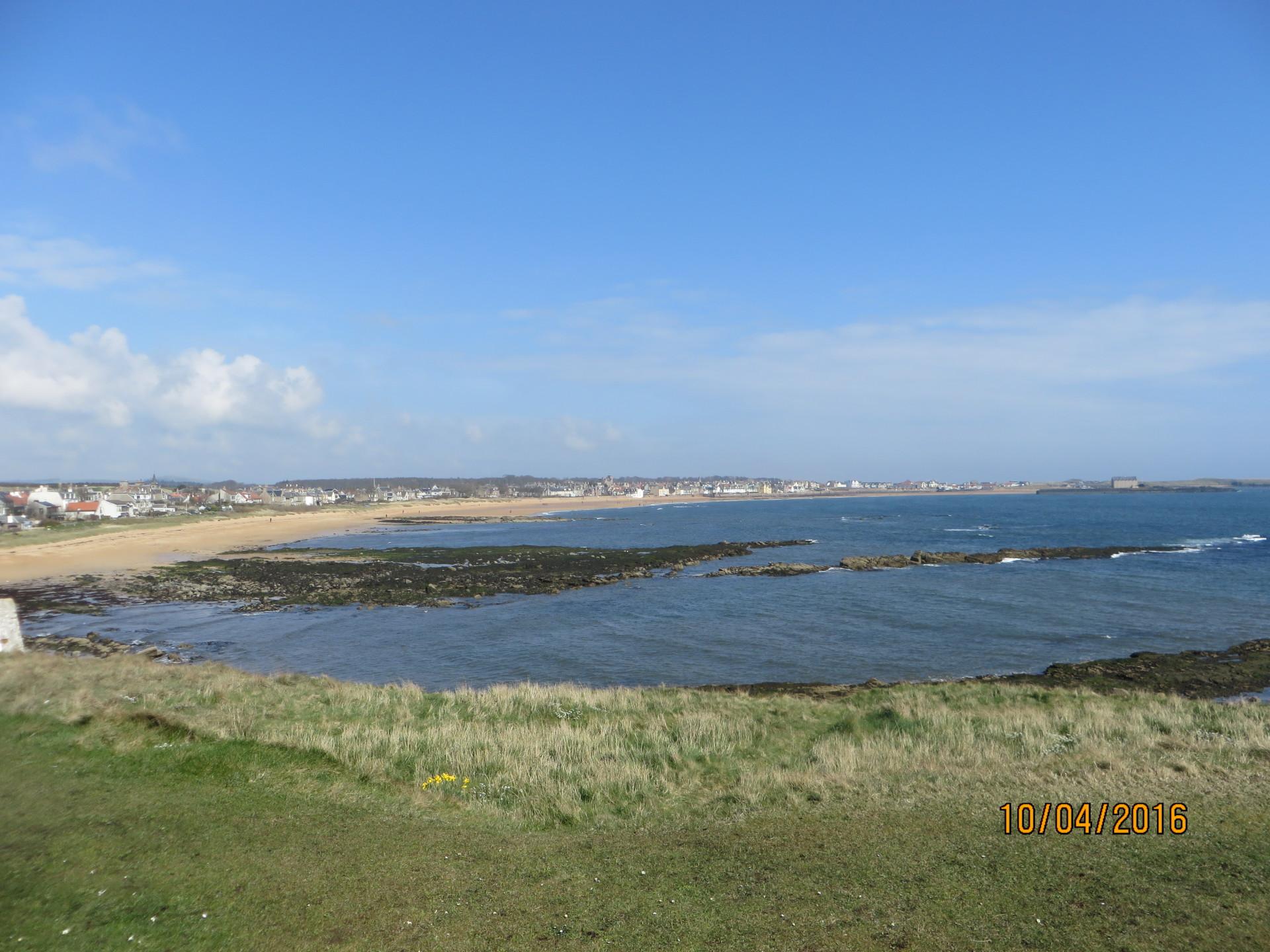 1 Golf Court Elie Holiday Let - Fine sand bay