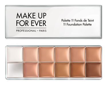 Make Up For Ever - FOUNDATION PALETTE