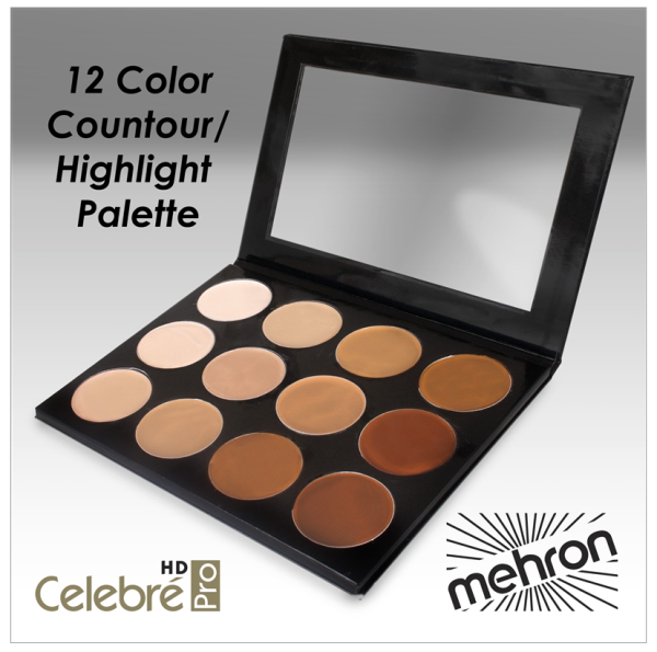 MEHRON - PRO HD FOUNDATION – CONTOUR KIT