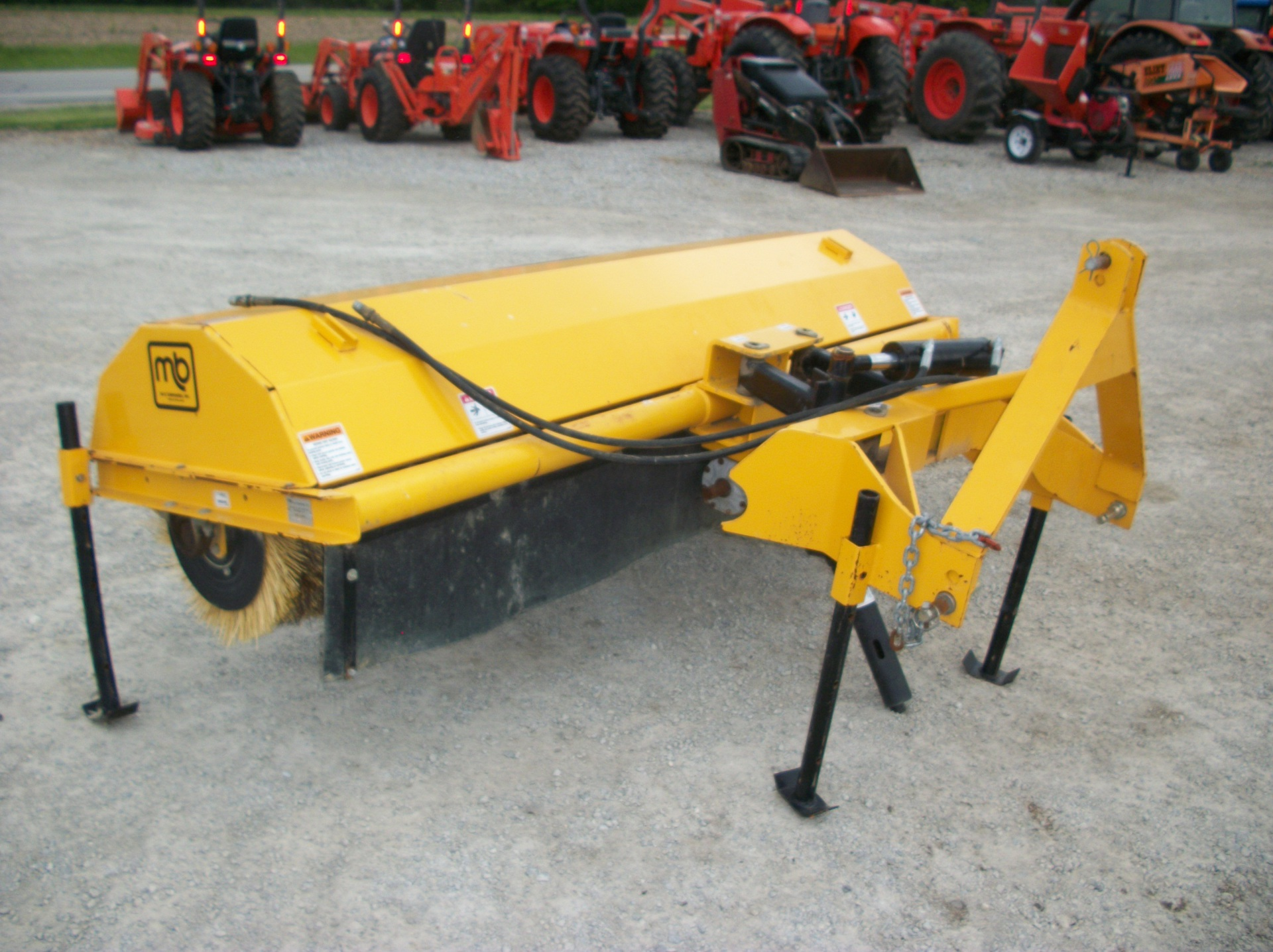 M-B CO 3pt Broom     $2,500