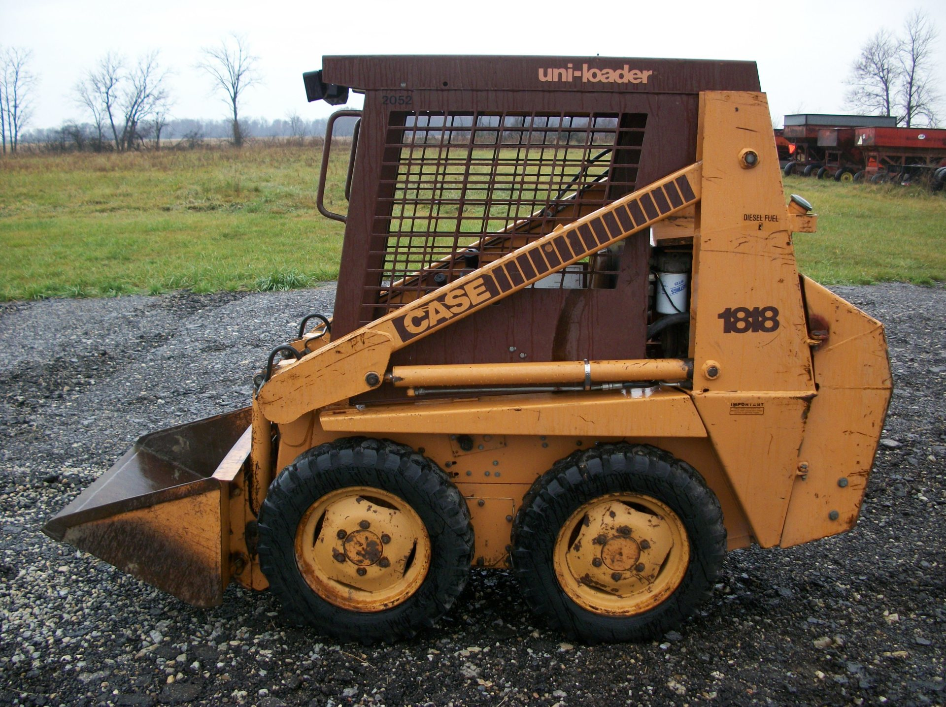 Case 1818 Diesel     $6,500