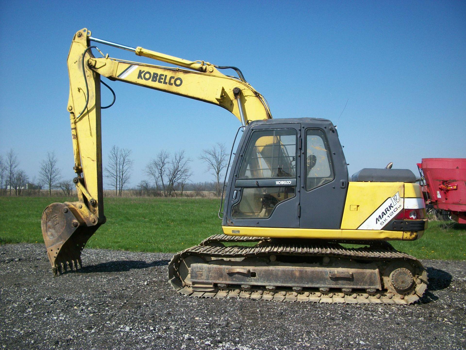 1997 Kobelco SK120LC     $23,500