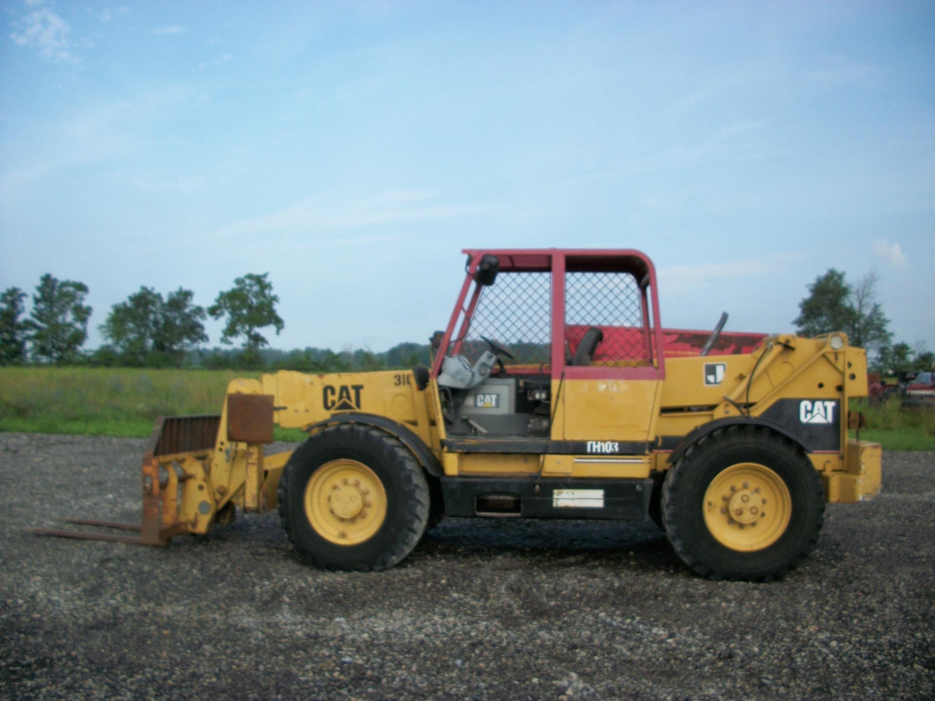 Caterpillar TH103      $27,500
