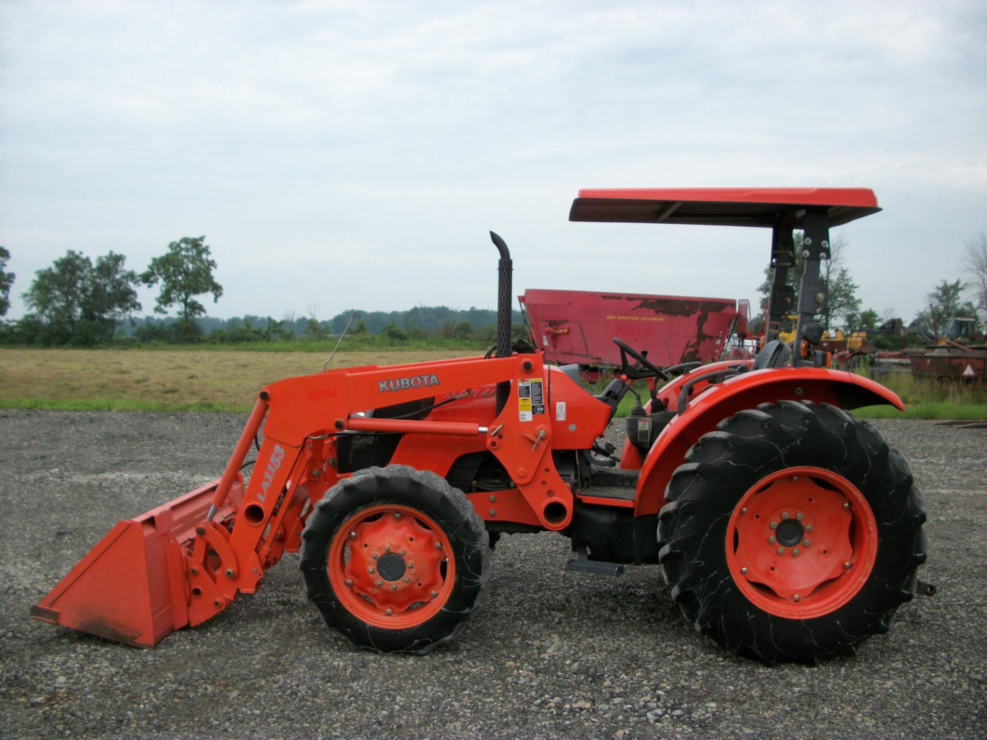 Kubota M6040     $25,500