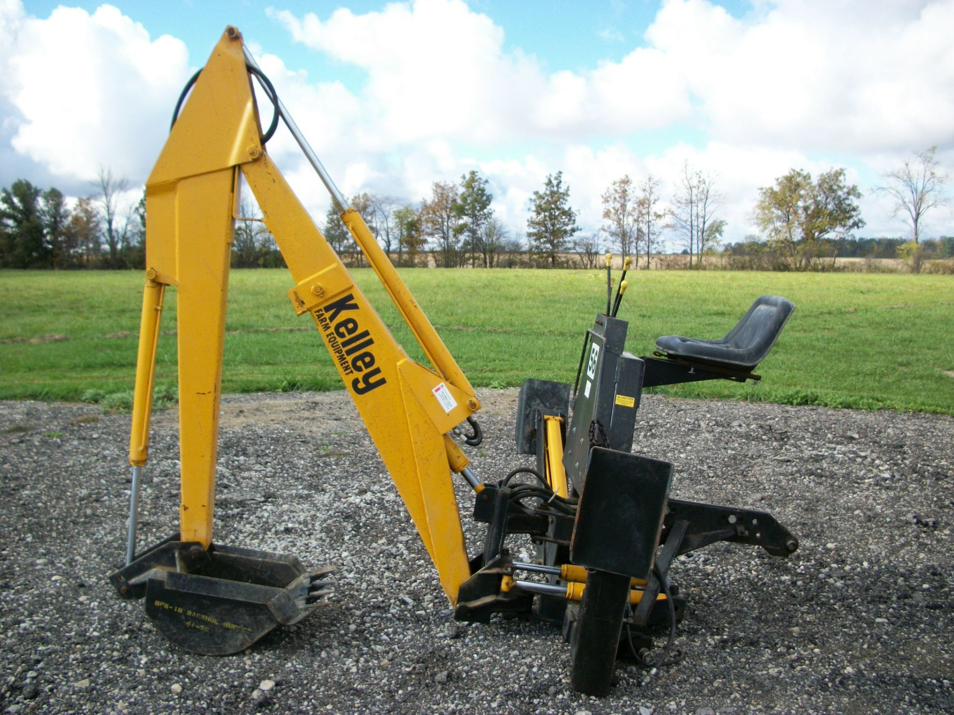 Kelley 56 3PT Backhoe     $3,900