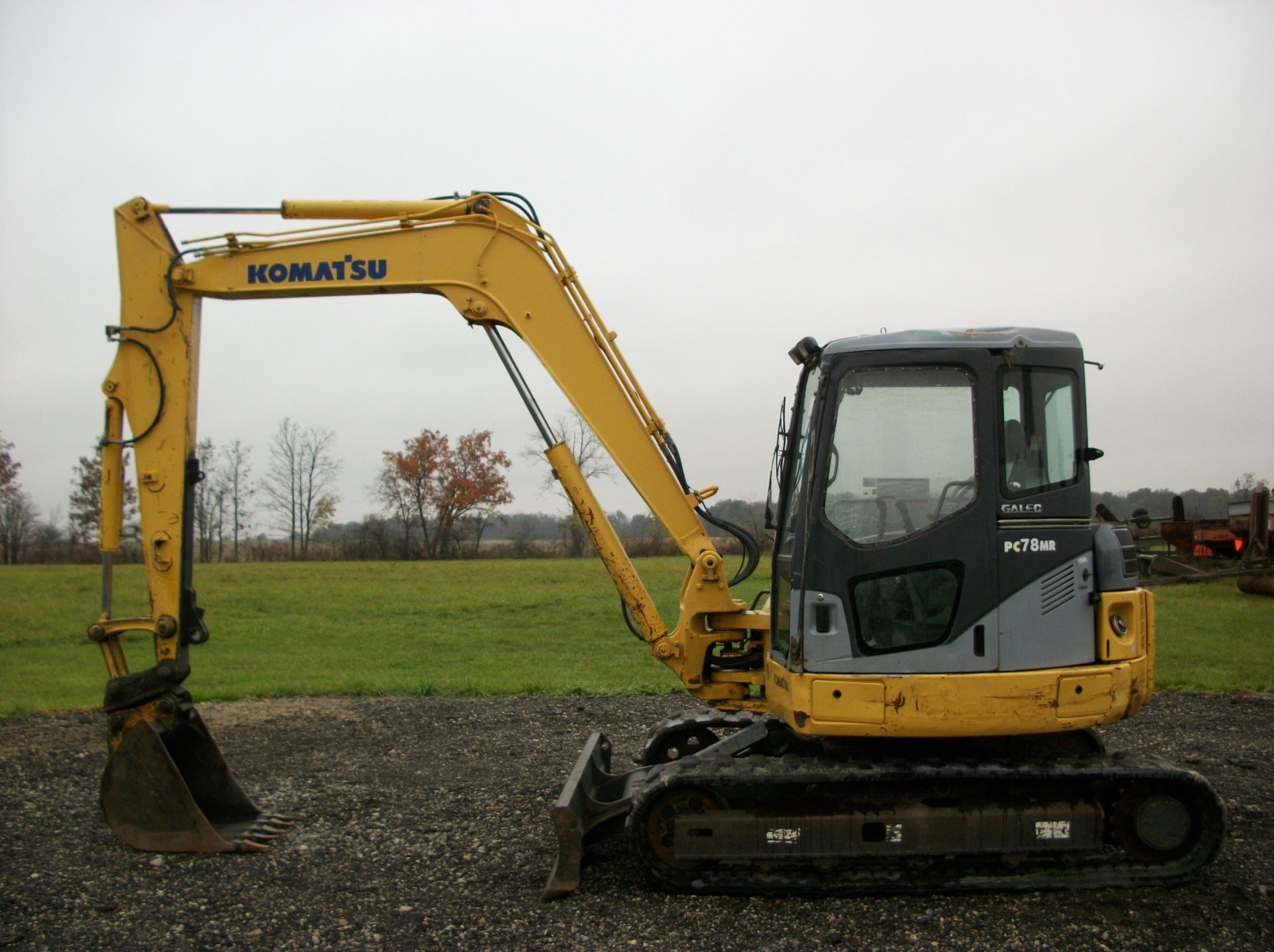 2006 Komatstu PC78MR-6     $29,900