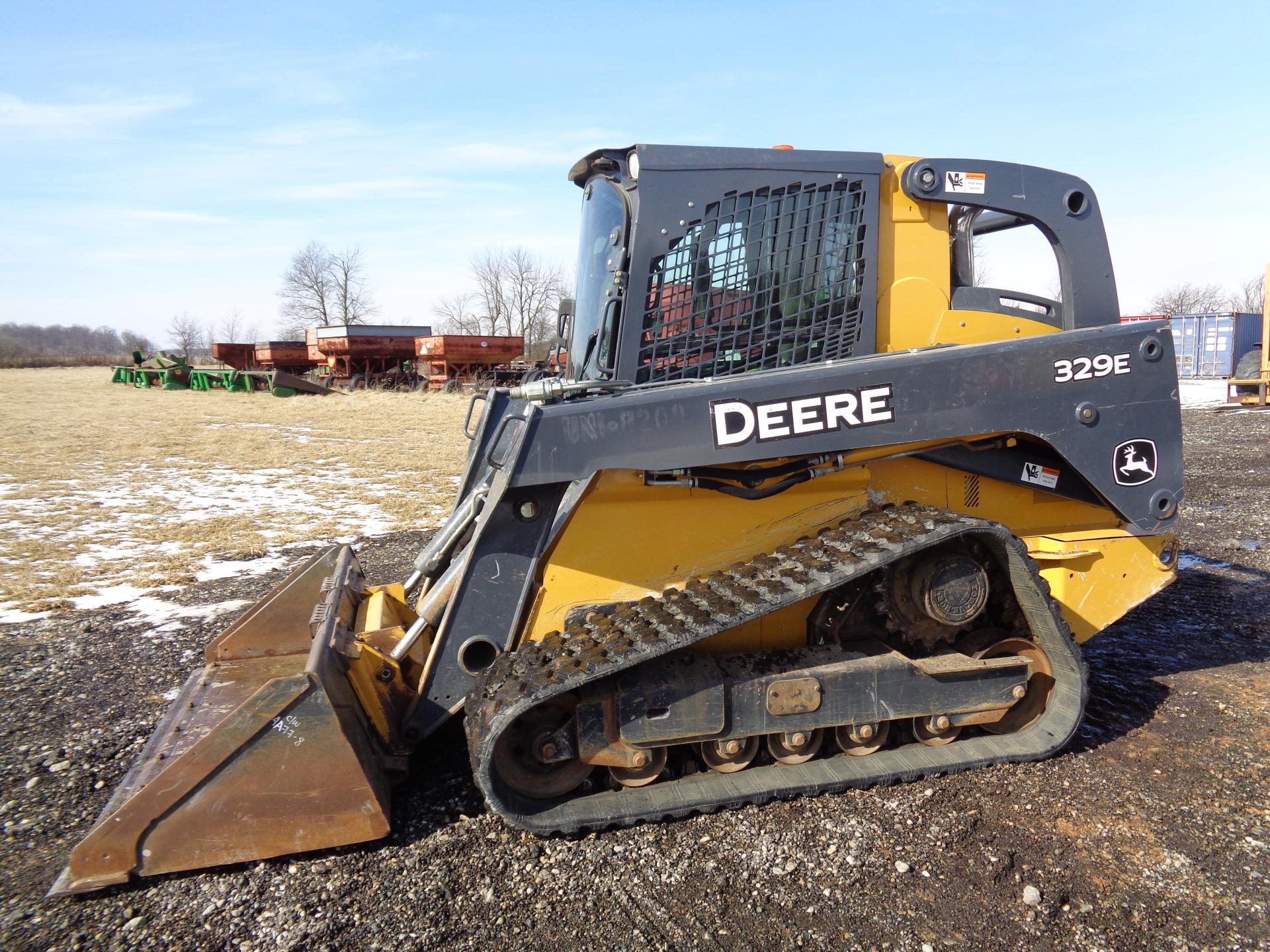 2014 John Deere 329E     $33,900