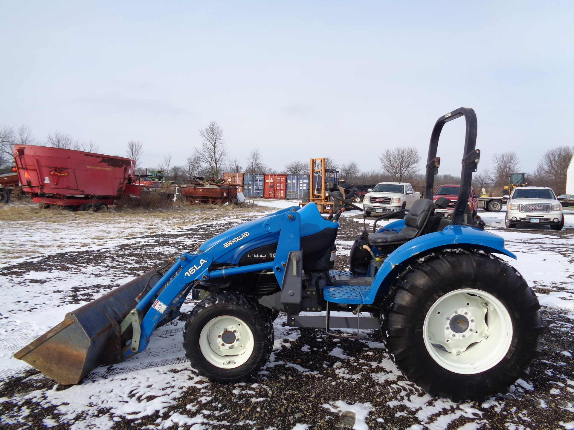 2000 New Holland TC40     $14,900