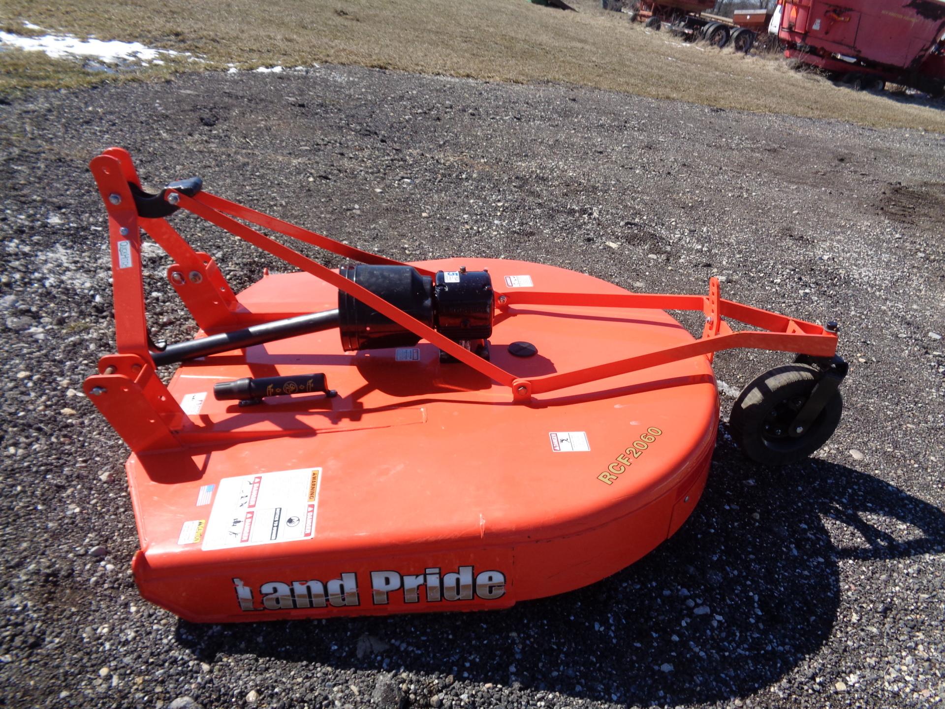 LandPride RCF2060     $1650