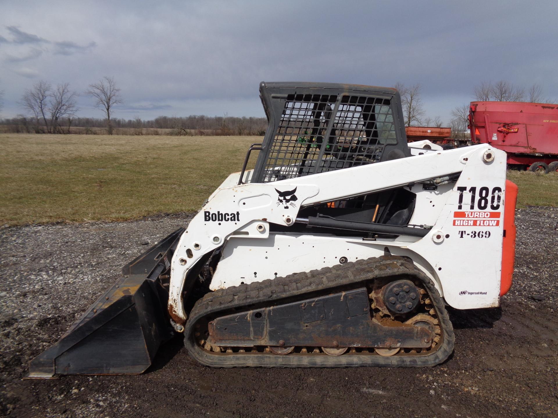 2005 Bobcat T180    $18,900