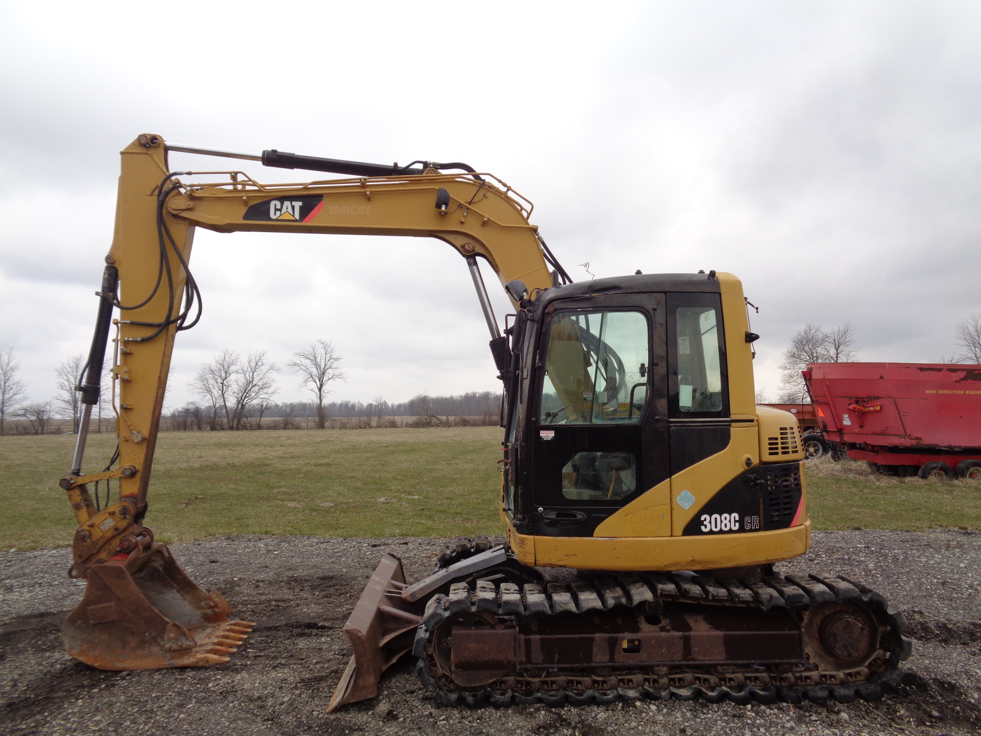 2007 Caterpillar 308C CR    $33,900