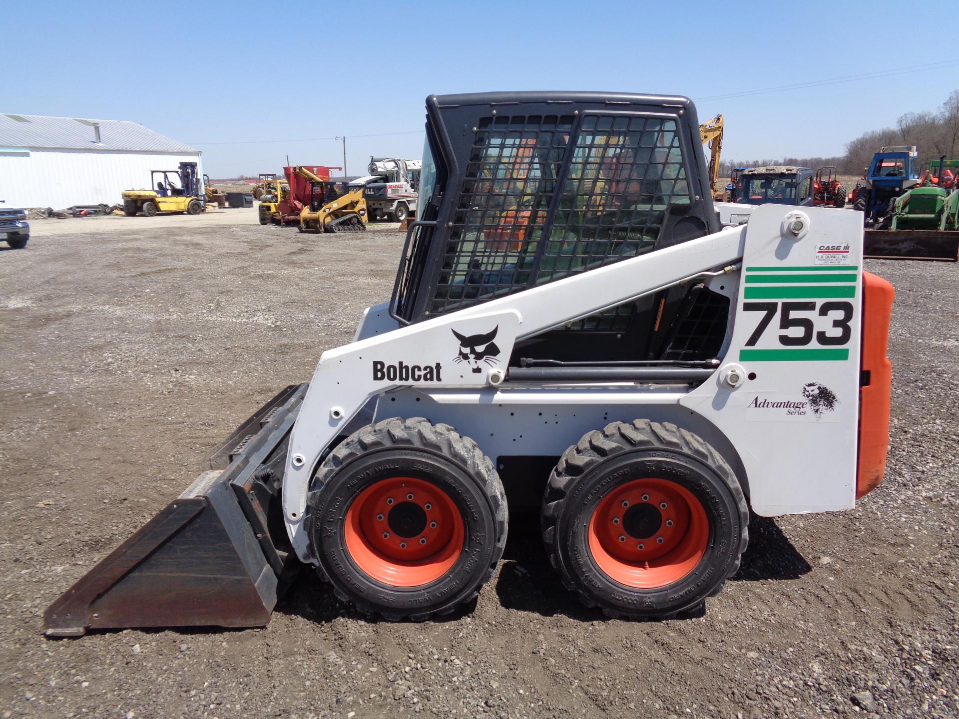 2000 Bobcat 753     $23,900