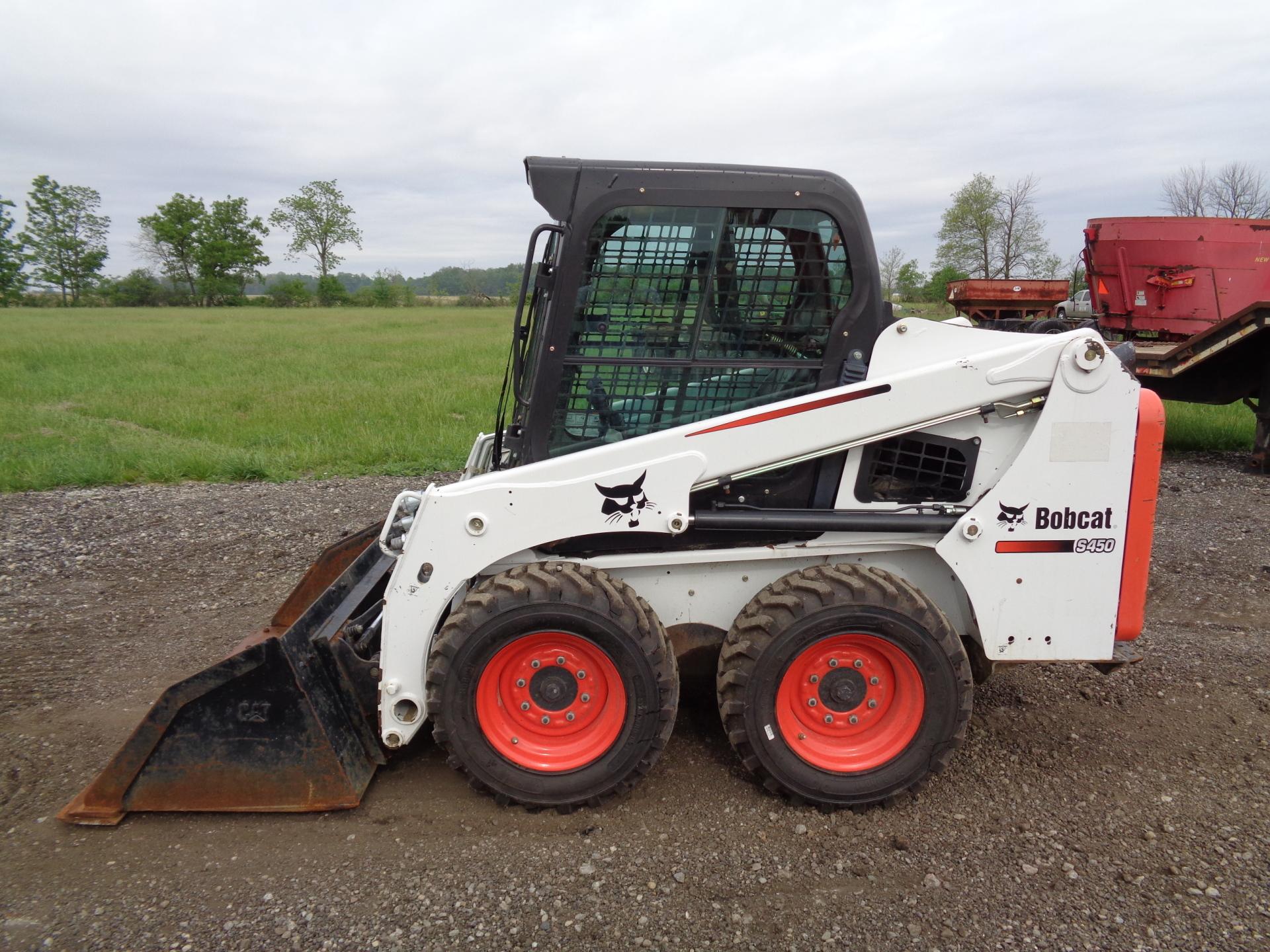 2016 Bobcat S450     $20,900