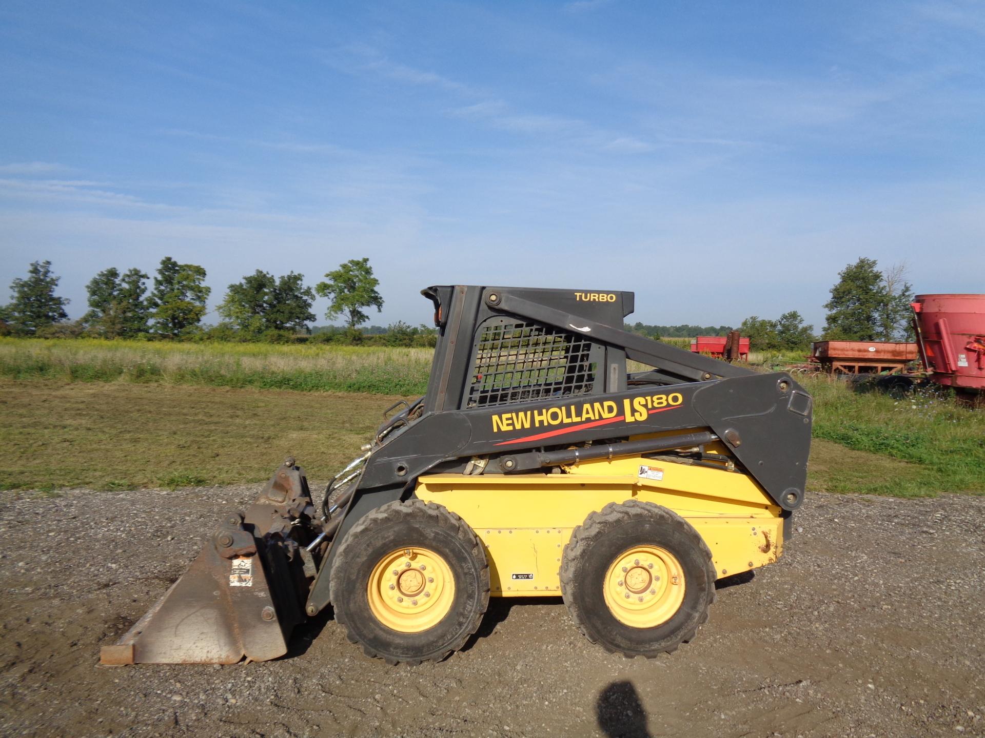 2003 New Holland LS180     $21,900