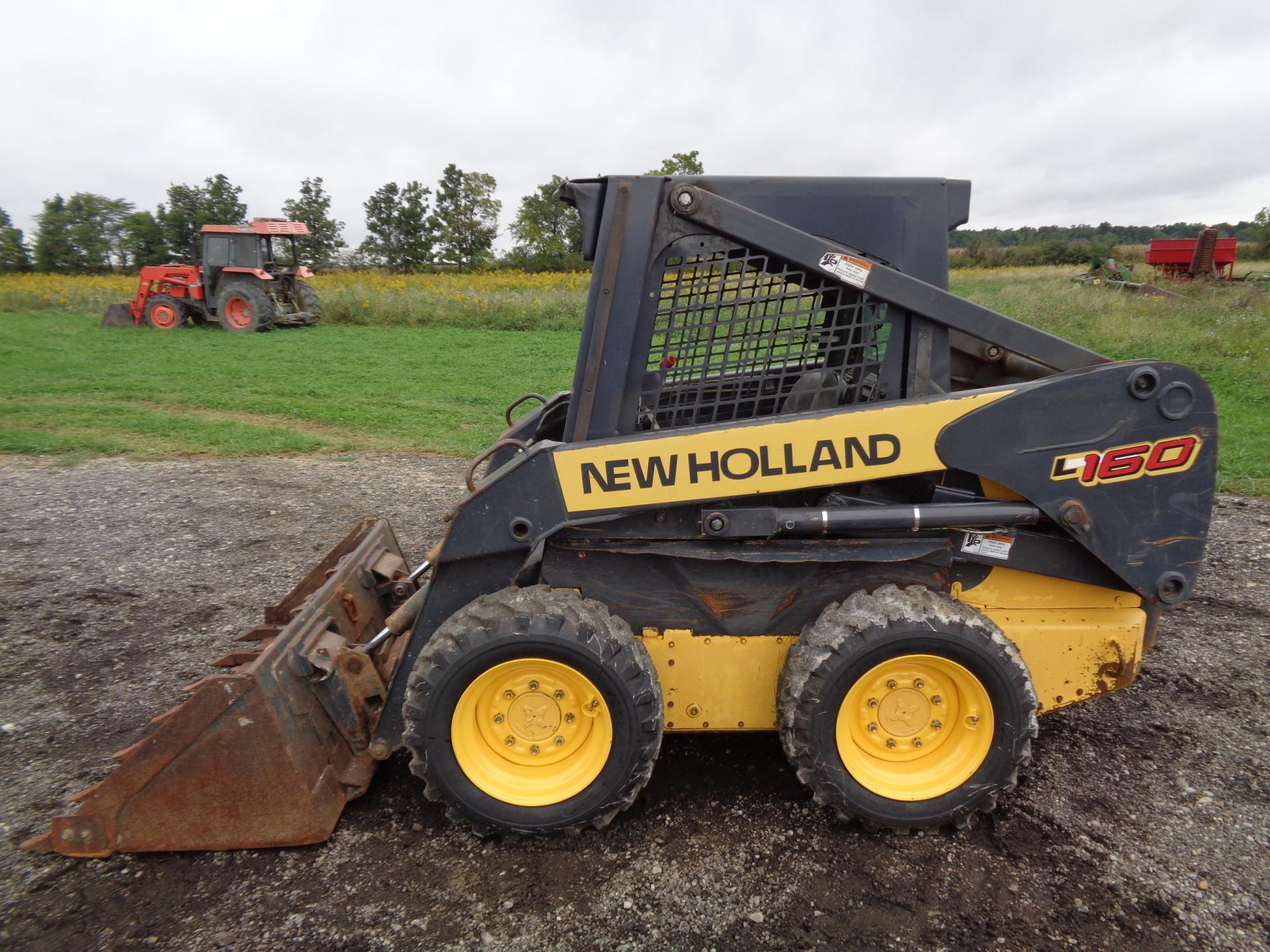 2006 New Holland L160     $13,900