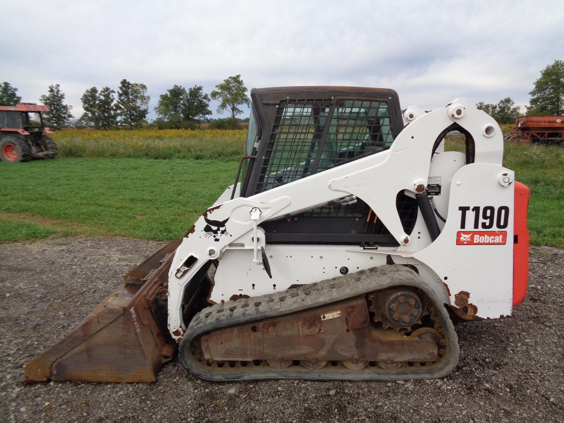 2006 Bobcat T190     $17,900