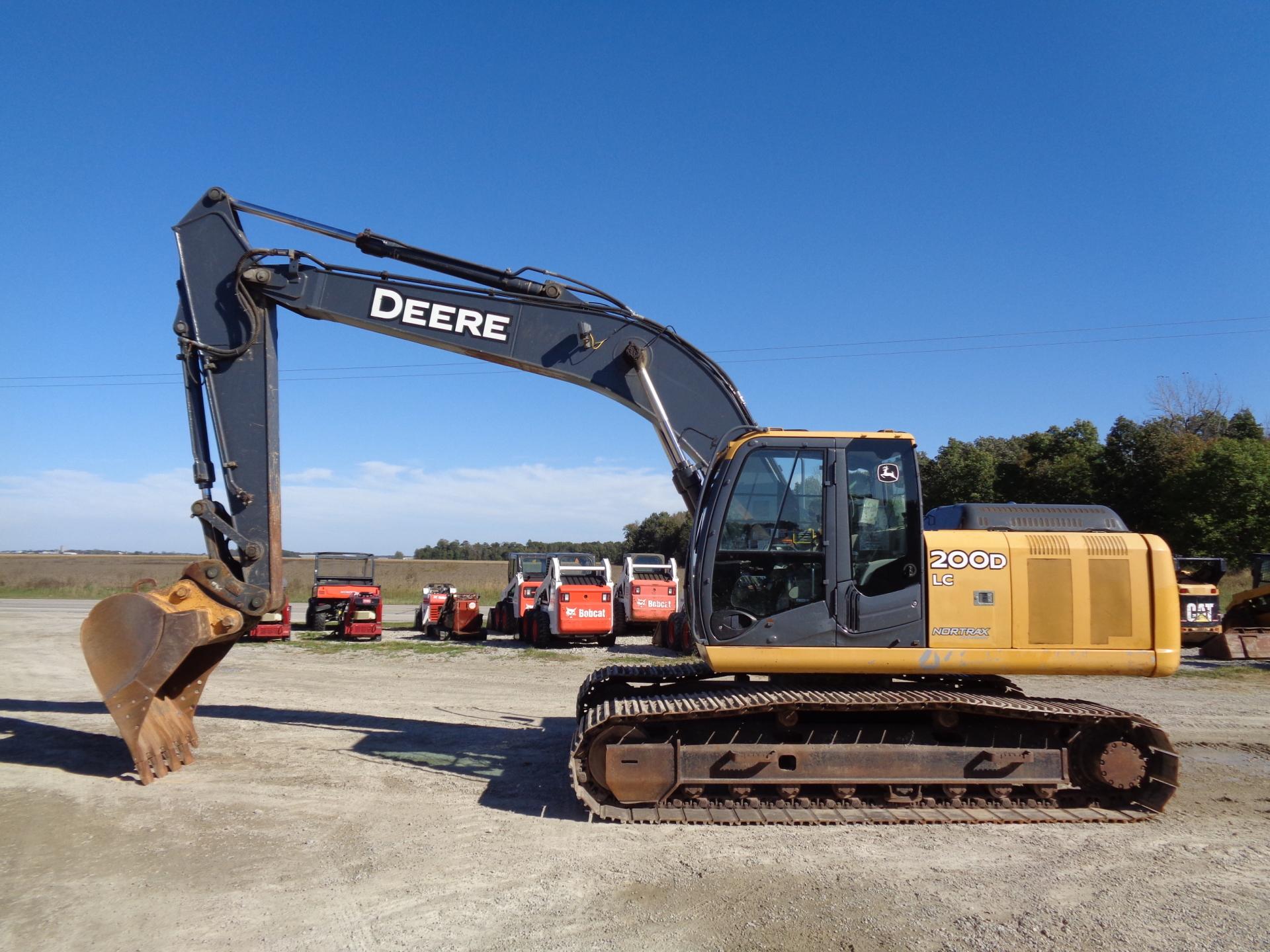 2011 Deere 200D LC     $63,900