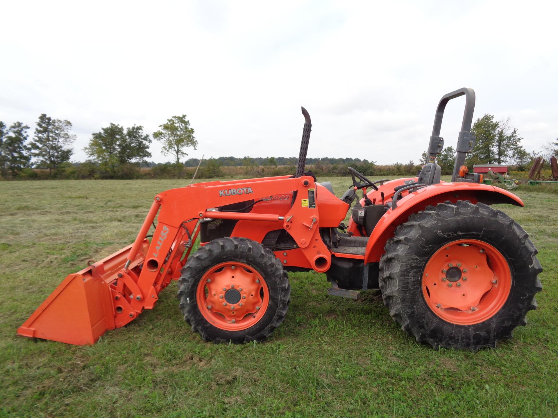 2009 Kubota M6040     $25,900