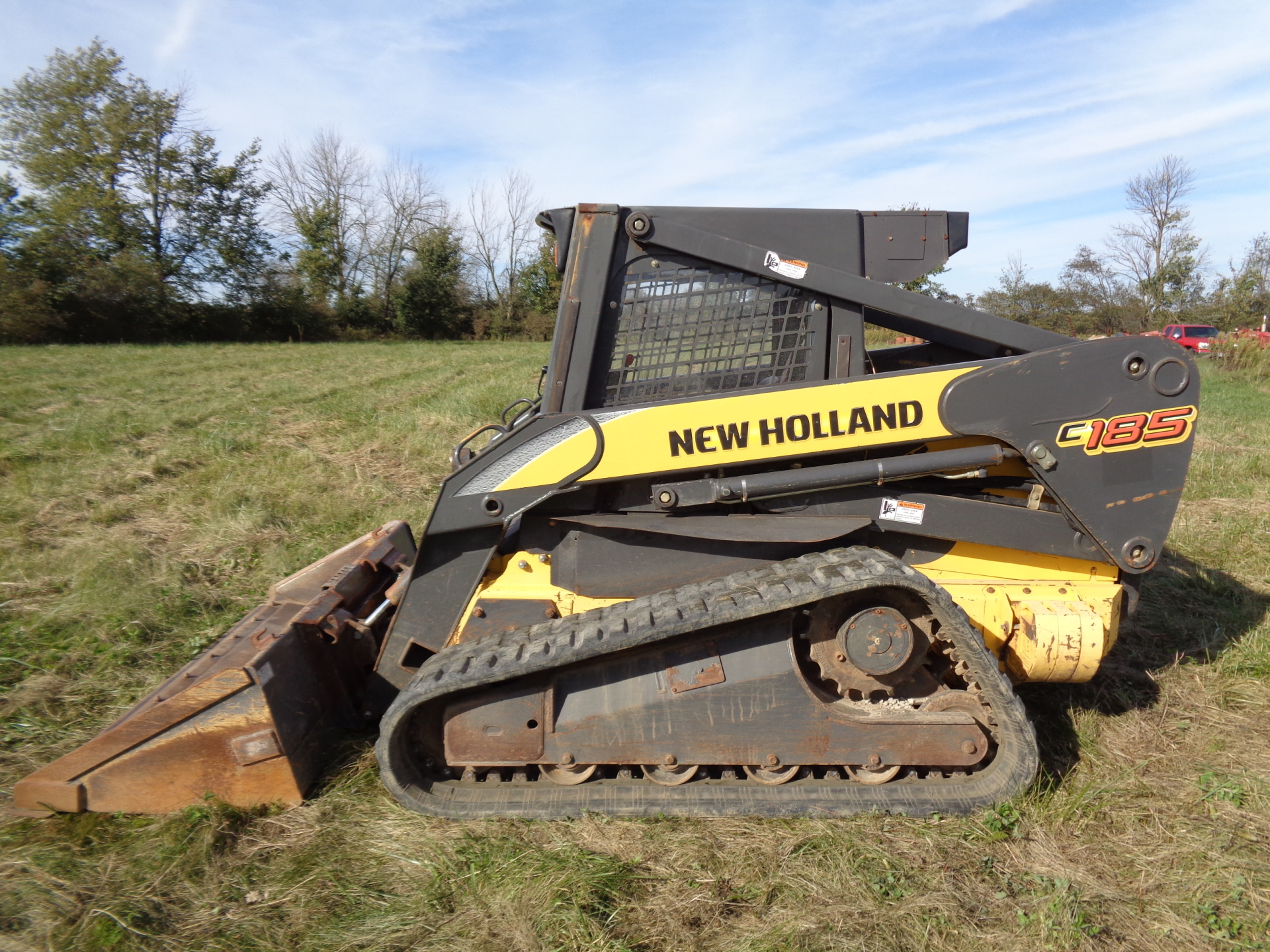 2006 New Holland C185    $23,900
