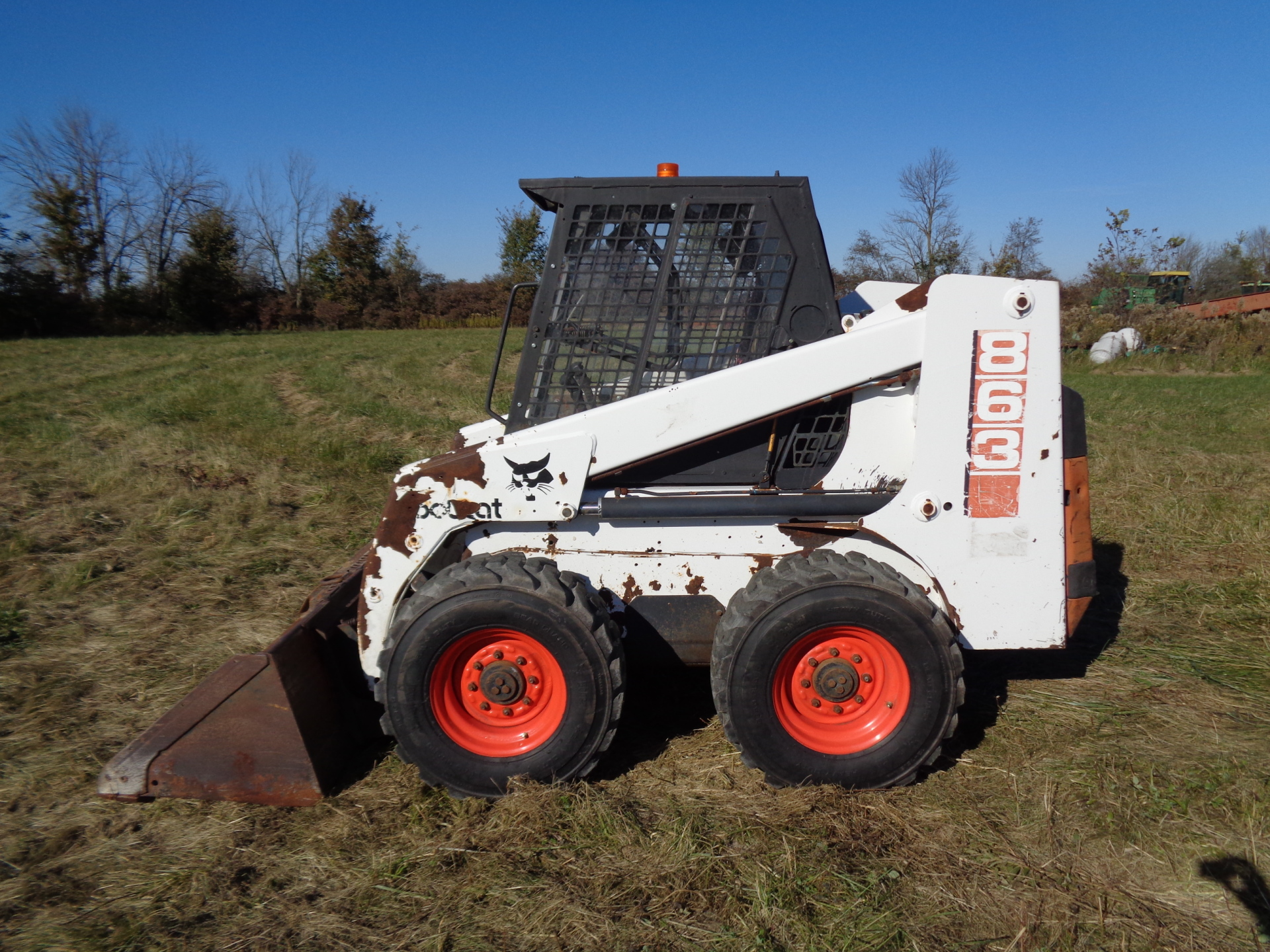 1996 Bobcat 863    $11,900