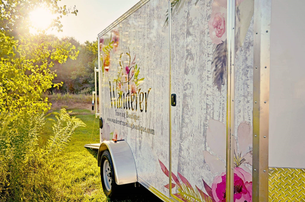 Wanderer Traveling Boutique Trailer