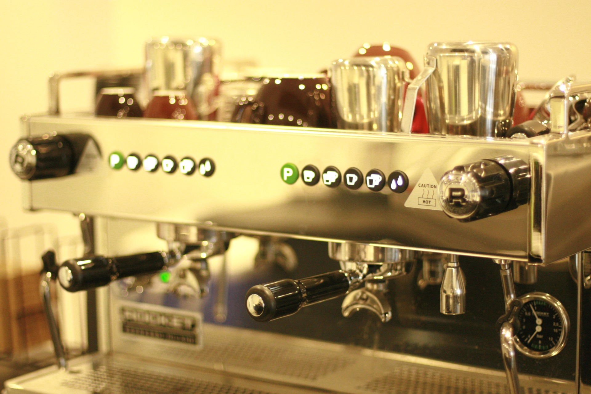 Great Machine Makes  Great Coffee.