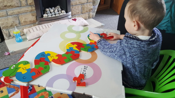 Getting to grips with colours, letters and fine motor skills
