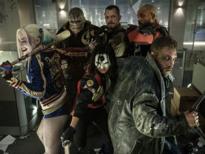 That time the cast of Suicide Squad walked by us