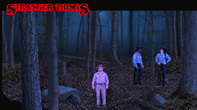 Stranger Things retro game is available today!
