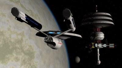 USS Daring approaching Kelway Station