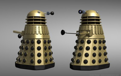 Day Gold Dalek
